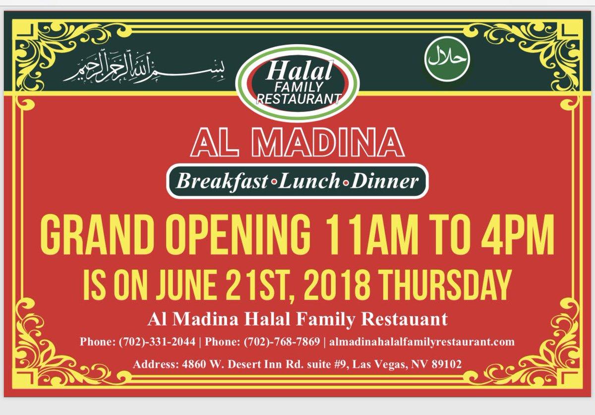 Al Madina Halal Family Restaurant Almadinalv Twitter