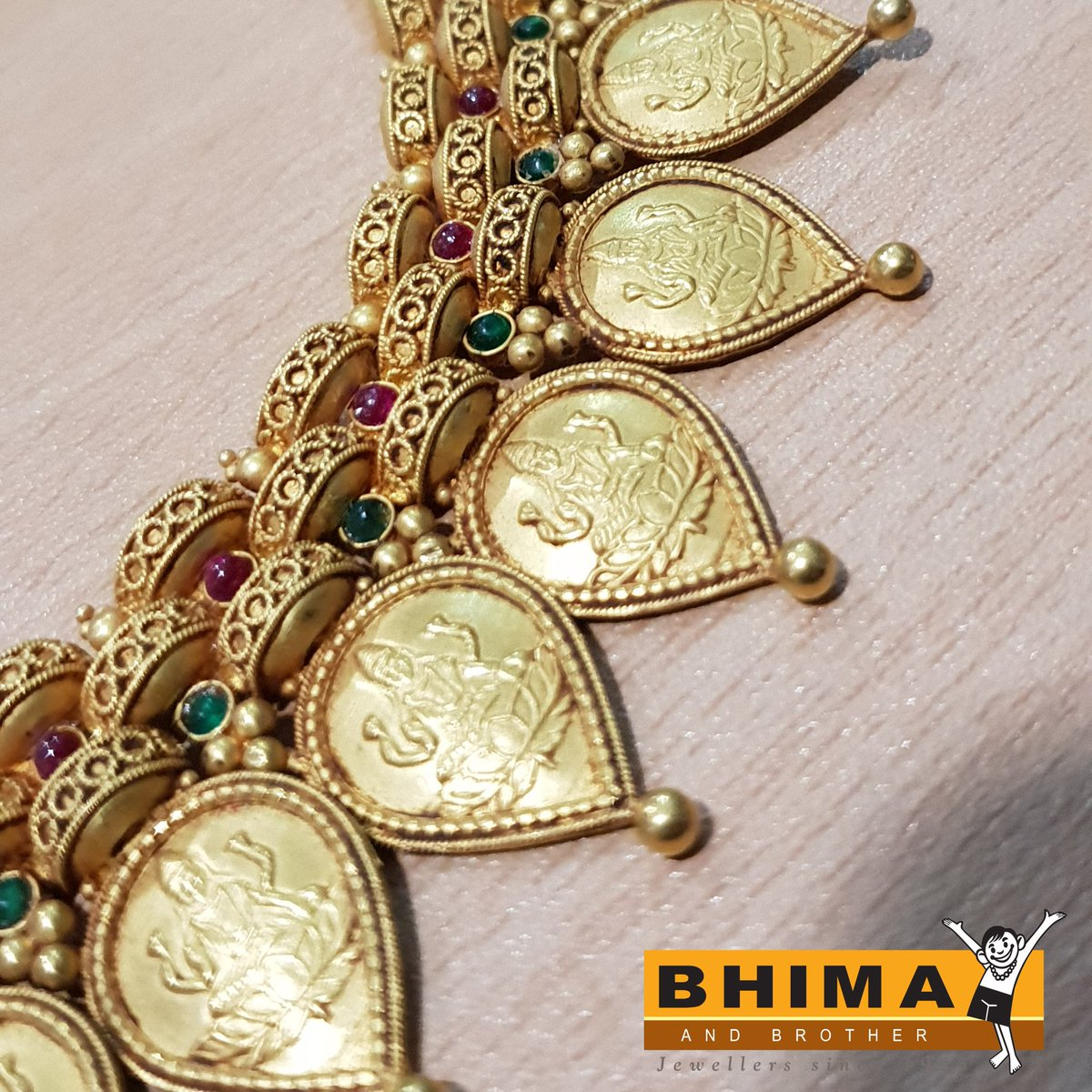 Bhima Jewellery On Twitter This Version Of Our Lakshmi Mala Is