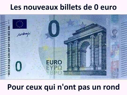 Présentation du Nouveau Billet euro... Pour une fois les pauvres et futurs pauvres en auront plein les poches  #PourResponsabiliserLesPauvres #AidesSociales #macron  - FestivalFocus