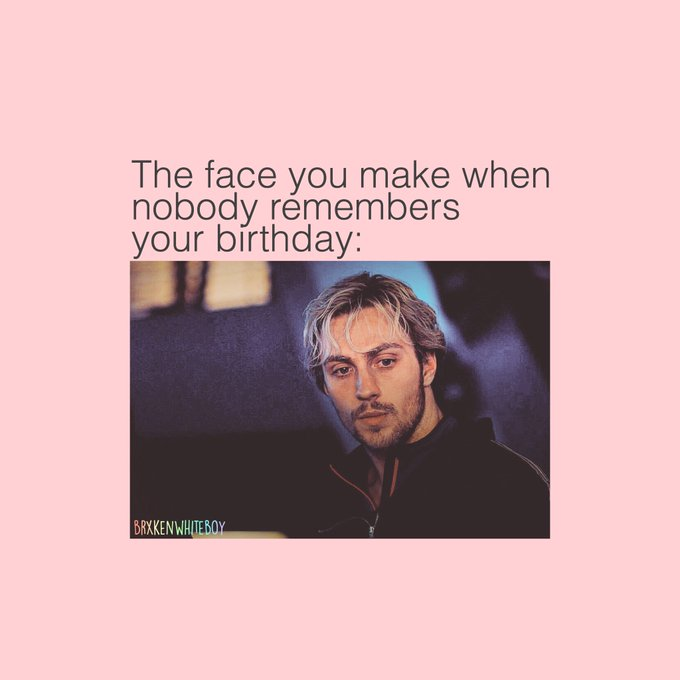 Salty af but.....  HAPPY BIRTHDAY AARON TAYLOR JOHNSON!!!