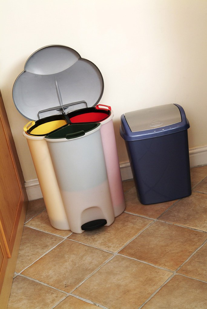 Dorset Council Waste Services On Twitter Ever Considered Getting A Second Kitchen Bin To Separate The Rubbish And Recycling Or A Bin With Separate Compartments You Could Hang A Bag On The