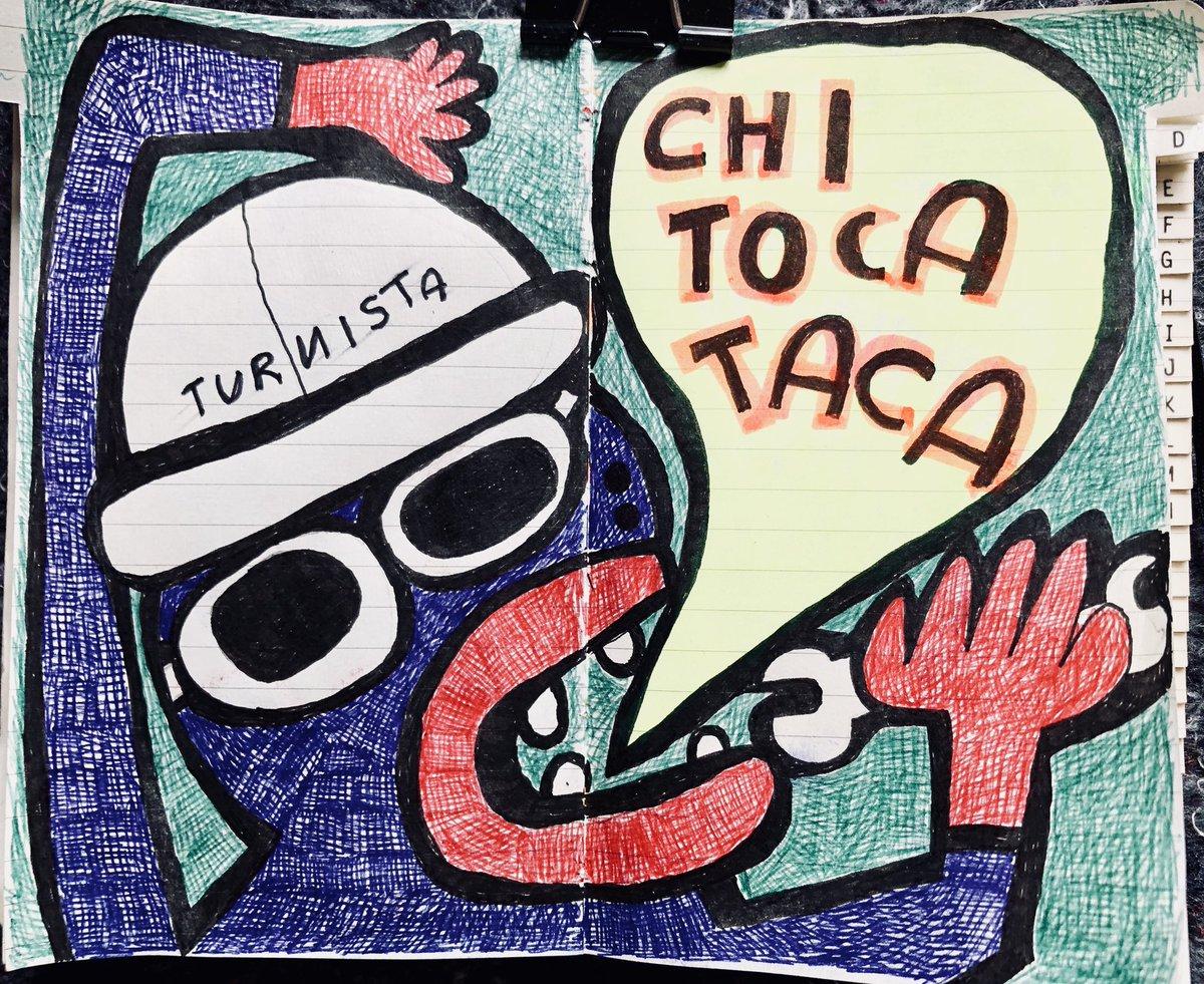 """#Turnista per #caso prima regola #Zen della #Fabbrica dei #Colori """"Chi toca taca""""#turnistapercaso #colors #diario #chitocataca  - Ukustom"""