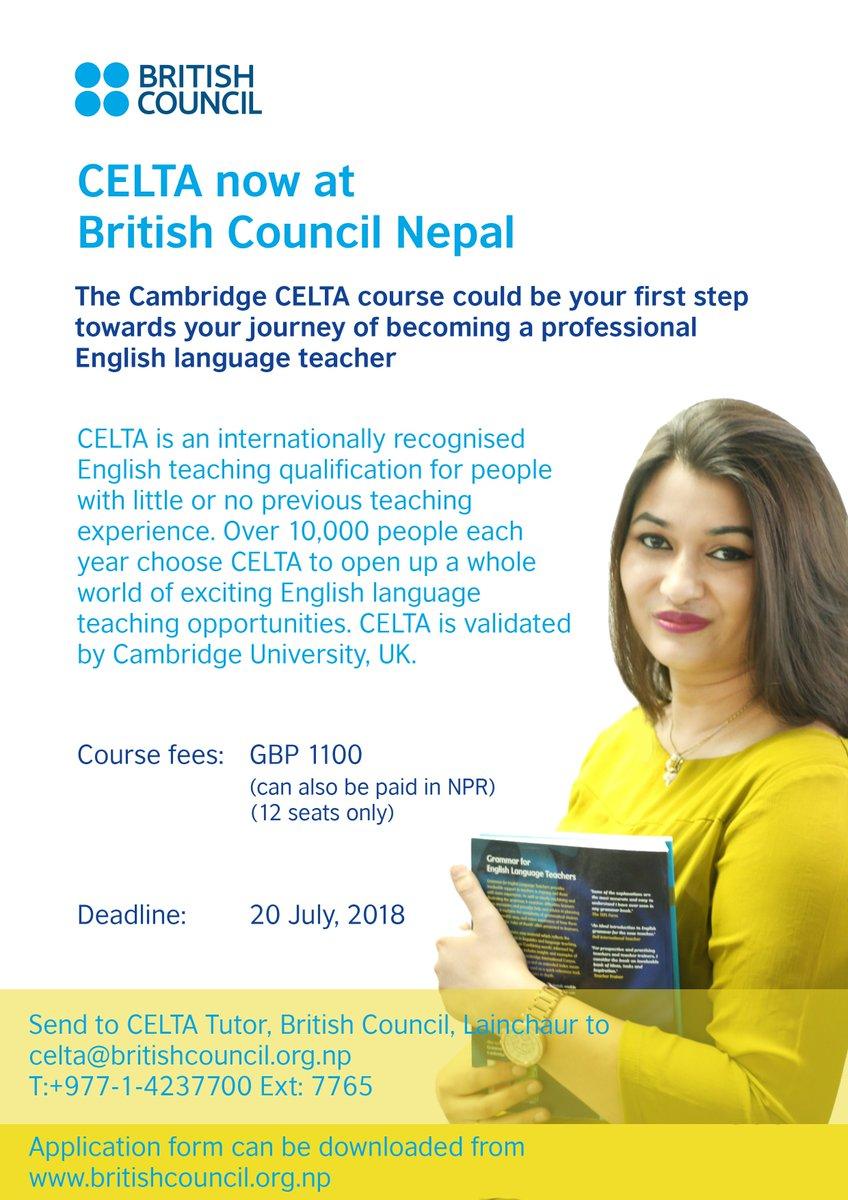 BritishCouncil Nepal on Twitter: \