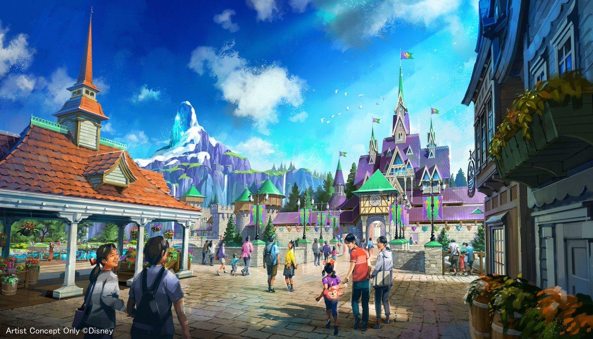 東京ディズニーシー『アナと雪の女王』『塔の上のラプンツェル』『ピーター・パン』の新エリアを22年開業 https://t.co/iNzR8pYOrG