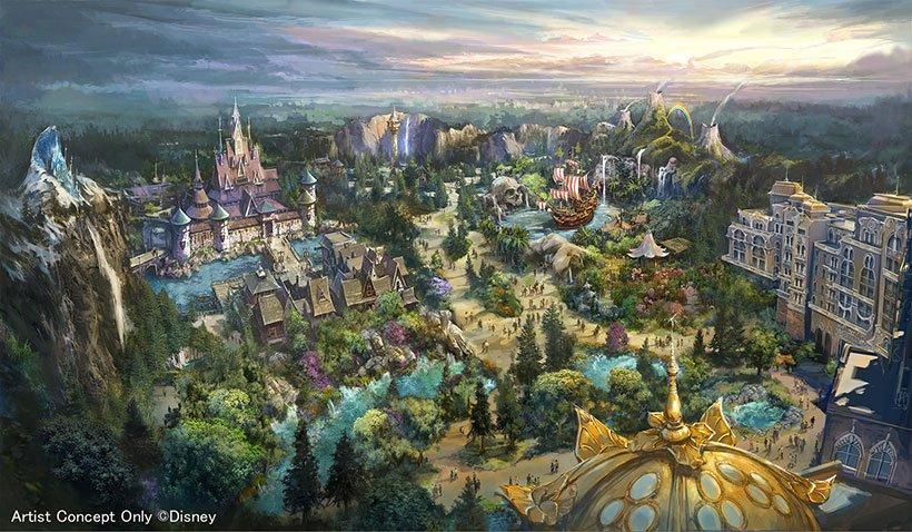 【ニュース!東京ディズニーシー大規模開発プロジェクト】 東京ディズニーシーに「魔法の泉が導くディズニーファンタジーの世界」をテーマにした、8番目のテーマポートを開発!新たなディズニーホテルも! 2022年度の開業に向け、過去最大規模のプロジェクトがスタート!>> https://t.co/hPIOfx7myQ