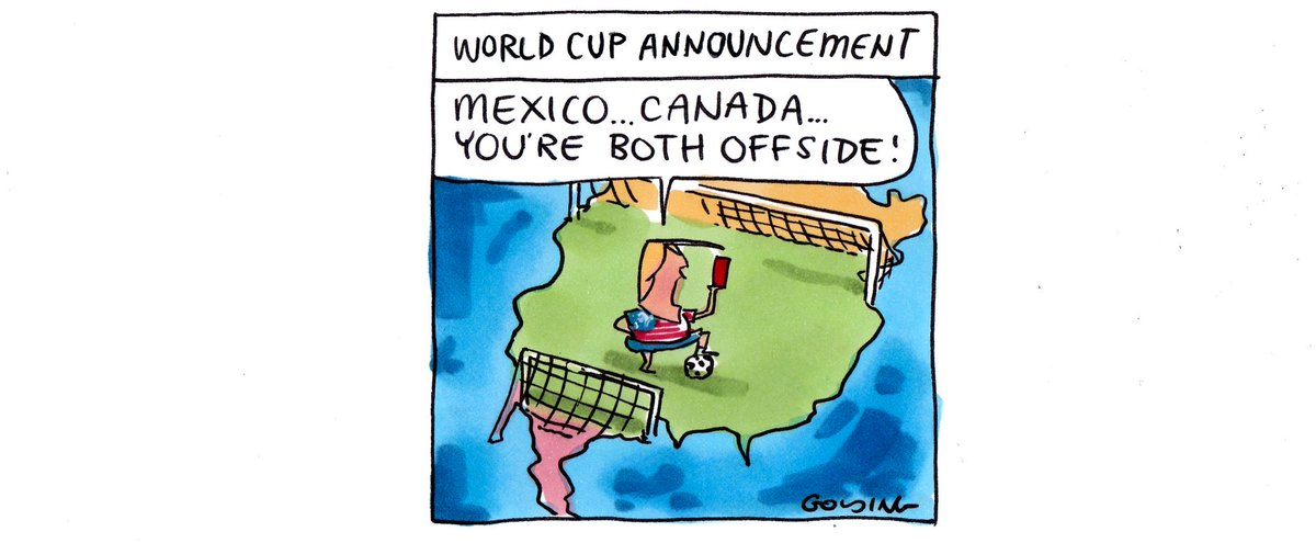 MattGolding Cartoons's photo on Canada and Mexico