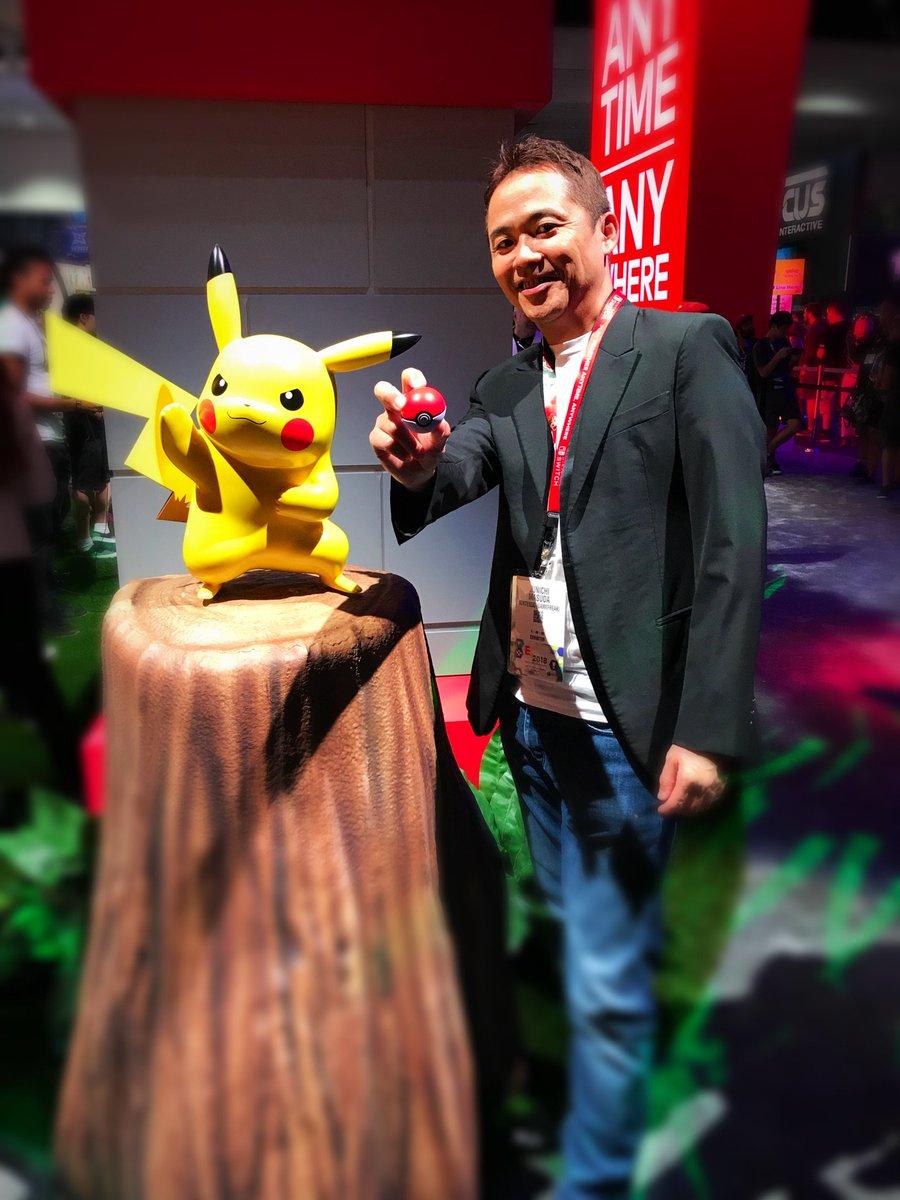 Thank you, Pikachu and Eevee! #LetsGo #E3