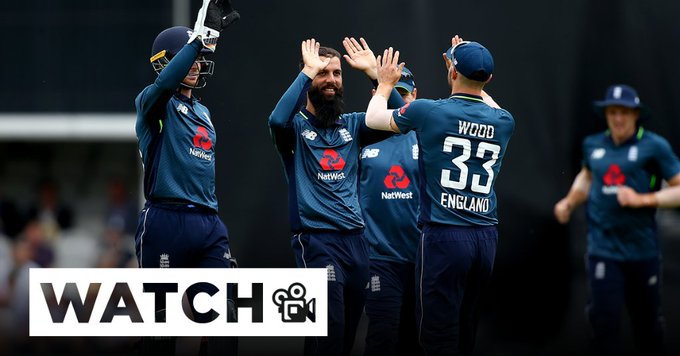 Full highlights from our first ODI against Australia! WATCH 🎥 #ENGvAUS Photo