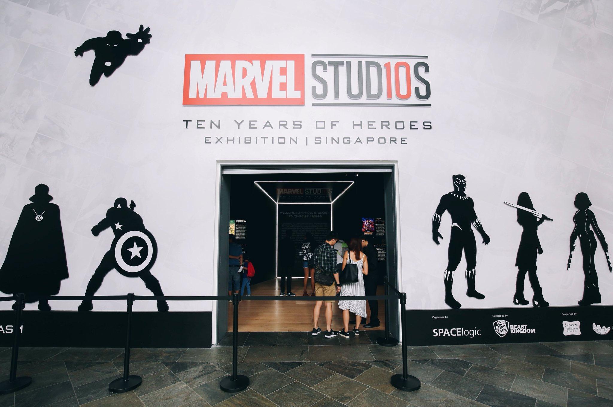 Marvel Studios: Ten Years of Heroes exhibition at ArtScience Museum till 30 Sep https://t.co/RRzl0peObV