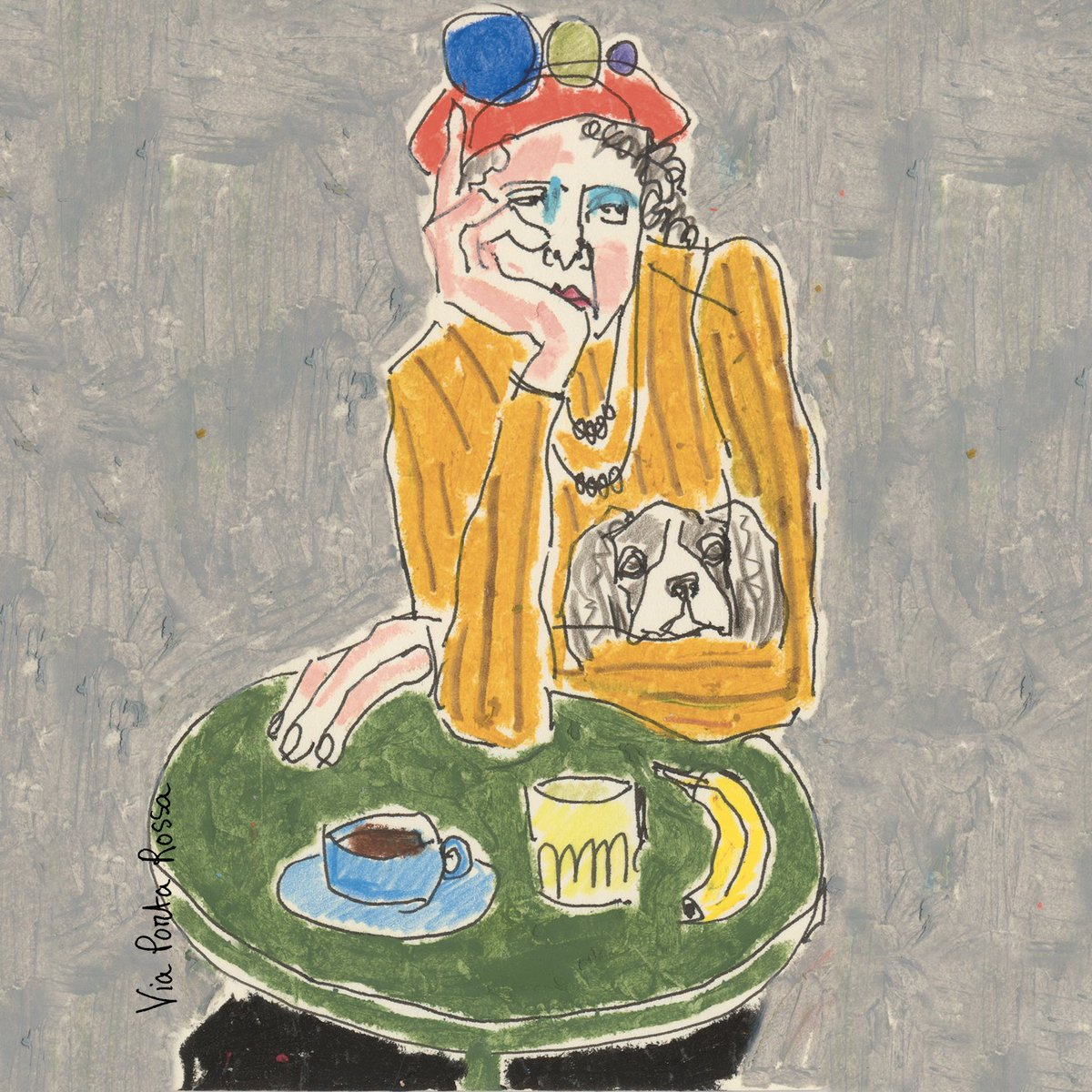 037b9fd49330 The London-based artist's illustrations are drawings of eccentric  characters of Florence that she made observing the streets of the city and  local ...