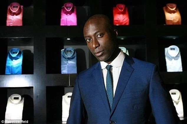 Ozwald Boateng, one of the giants in the fashion world. An English fashion with of a Ghanaian descent, caught the public's eye with his classic British tailoring and bespoke clients list includes heavyweights like Georgio Armani, Jamie Foxx, Richard Branson, Ryan Foto