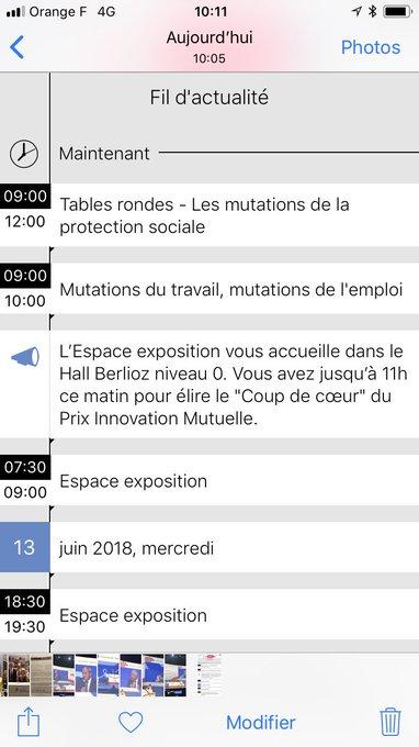 #MutCongrès Table ronde sur «Mutations des parcours, mutations des droits» pour tous, salariés et agents de la Fonction Publique. La protection sociale, facilitateur clé dans ces parcours. @mutualite_fr Photo
