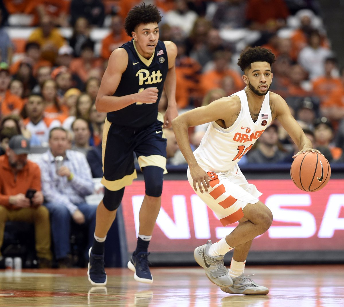 Syracuse Basketball On Twitter Howard Washington Is Exactly Where