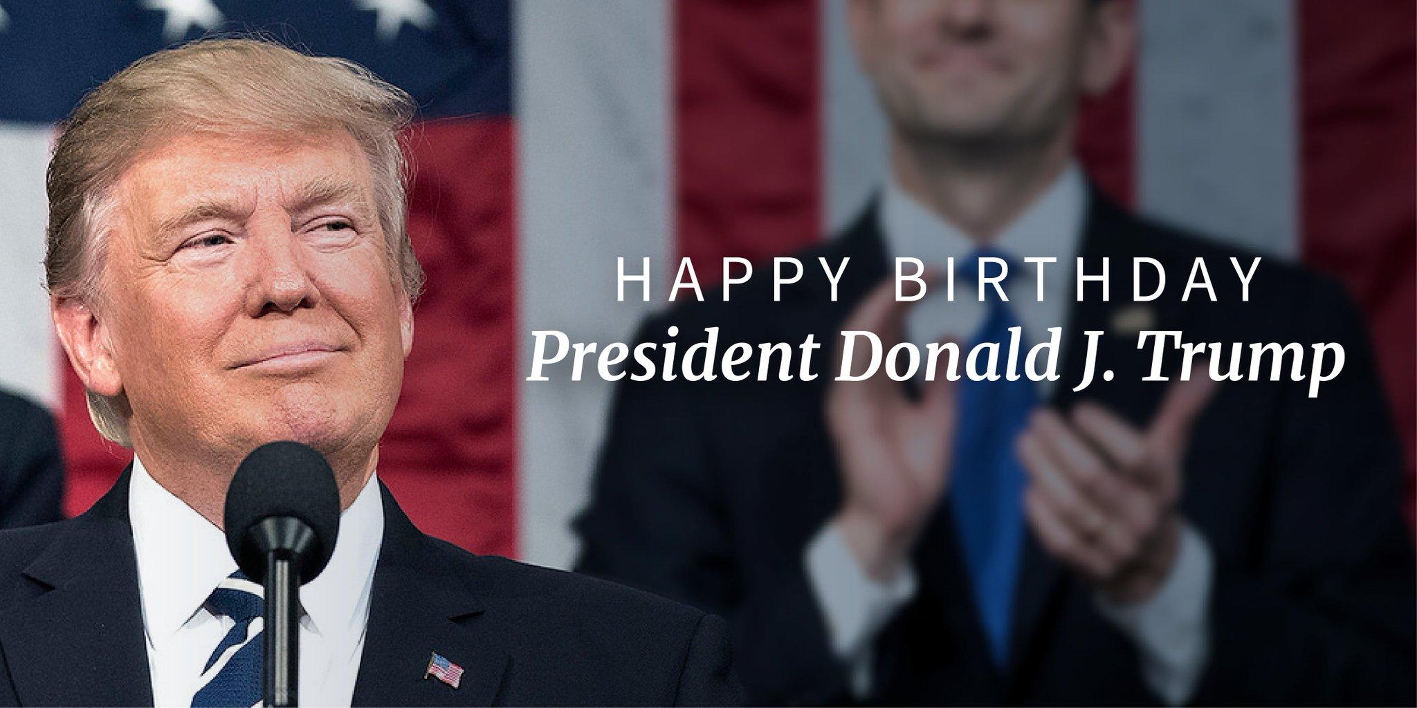 Happy birthday, @realDonaldTrump! https://t.co/e5fhi540T9