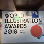 Checking out the very latest in the wonderful world of illustration today @theaoi World Illustration Awards. Happy to see some of our household faves featured @ogildersleeve @BenTallon 👏