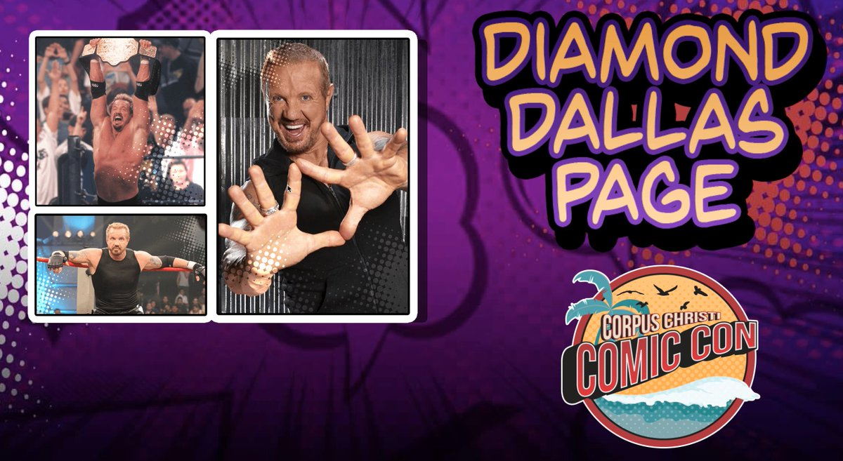 Less than two weeks until @RealDDP comes to Corpus Christi for @CCTXcomiccon. Have you gotten your tickets yet? corpuschristicomiccon.com #CorpusChristiComicCon #C4TX18 #MeetDDP
