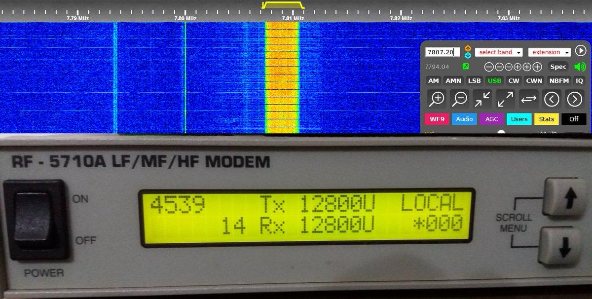 Preamble modem