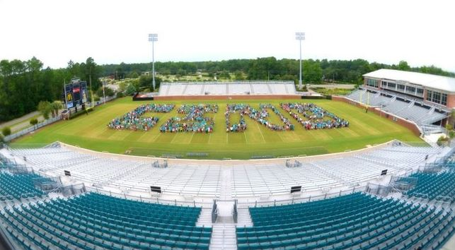 Coastal Carolina U On Twitter Back By Popular Demand For Tbt We Flashback To When Our Students Spelled Out Cino On The Football Field Ccu