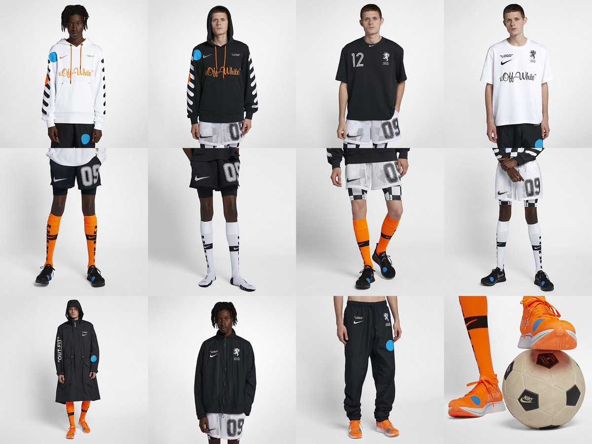 """Off White x Nike """"Football Mon Amour"""" Apparel Collection Is"""