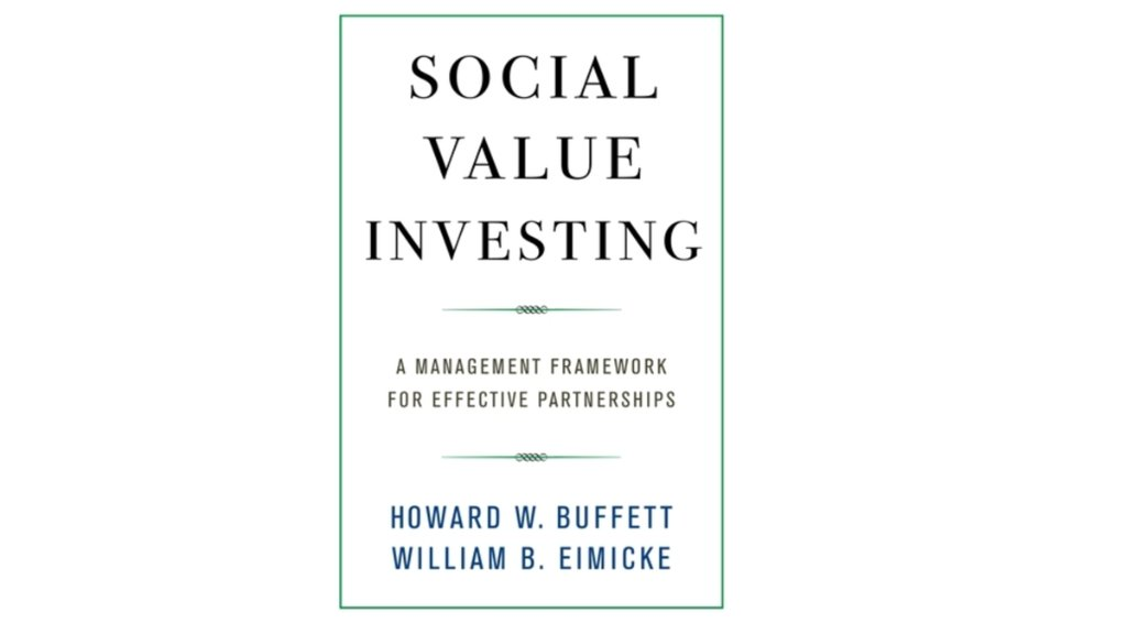 Collaboration is key to our work at the foundation. @hbuffett's new book 'Social Value Investing' explores how to make partnerships even more effective at tackling big problems: https://t.co/G7iMPahfrC