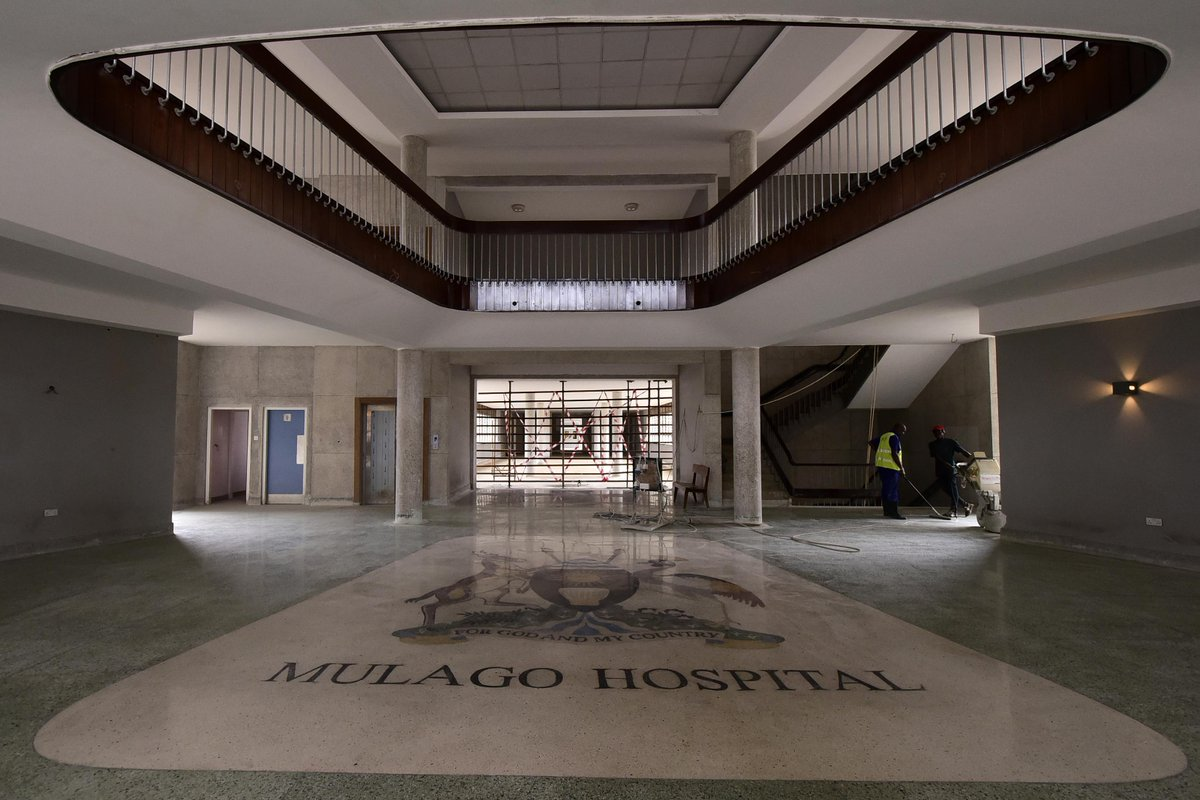 The construction expansion rehabilitation and equipping of Mulago National Referral Hospital is in final stages and will be completed during next ... & State House Uganda on Twitter: \