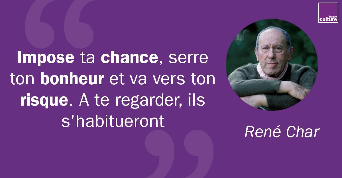 France Culture On Twitter 14 Juin 1907 Naissance De René