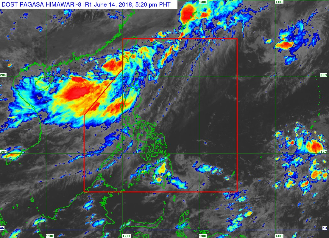 "The Low Pressure Area (LPA) outside Philippine Area of Responsibility (PAR) west northwest of Batanes has developed into a Tropical Depression. •The Tropical Depression is expected to enter the PAR between tonight and tomorrow morning and will be named ""#EsterPH""."