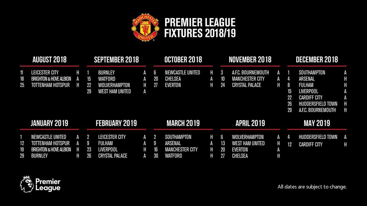Manchester United Calendario.Futbolecuador Com Copada La Agenda Del Capitan Amazonico