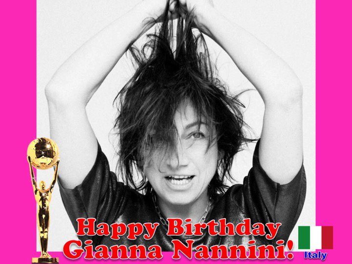 Happy Birthday to Italian Rock Star #GiannaNannini, World Music Awards Italian Winner in 1991! 👏🇮🇹🎶🎹🎸🎤🎂🎉🎁🎈💐😍🎇