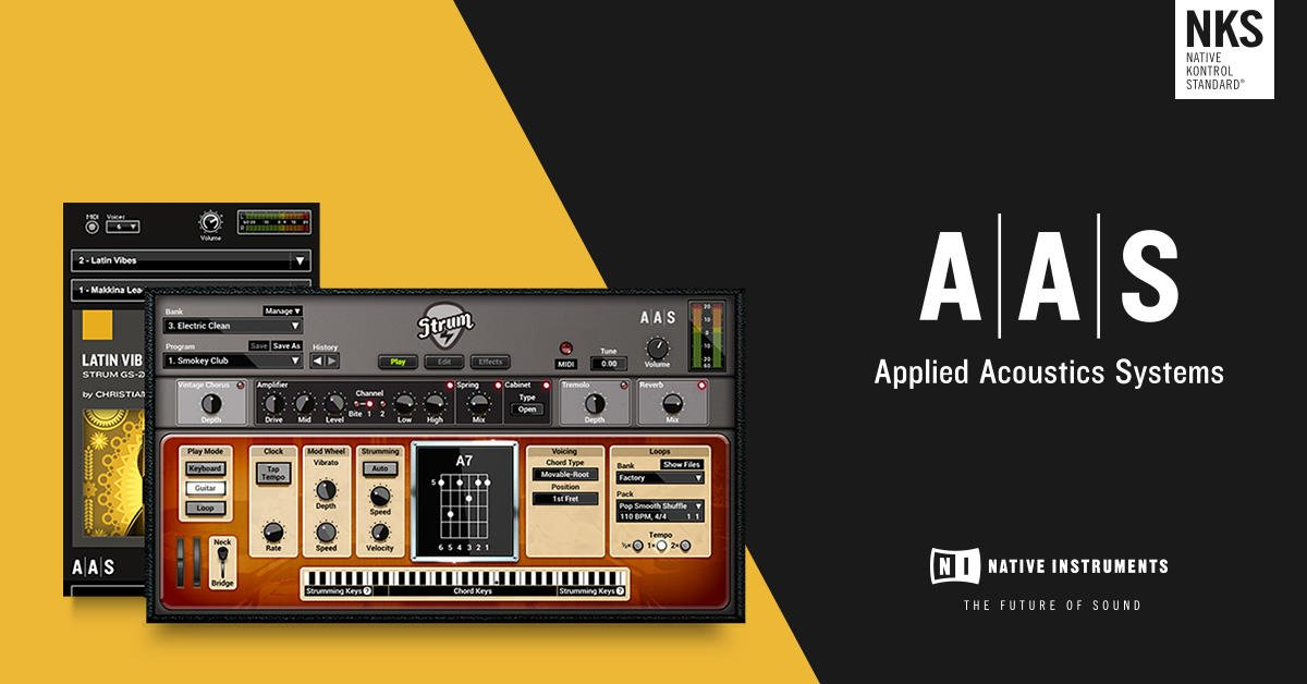 Native Instruments On Twitter Latin Vibes From Aasnews Explores