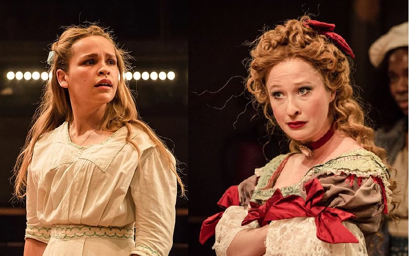 Break a leg to the stupendous #IolaEvans & @celeste_dodwell - both reprising the acclaimed performances in #AnOctoroon @NationalTheatre, which opens to the press tonight. Congratulations girls for all your hard work!