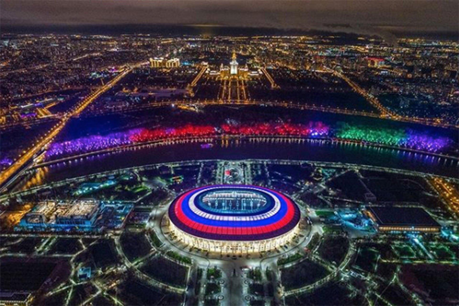 Rusia derroto 5-0 a Arabia Saudita en Rusia 2018