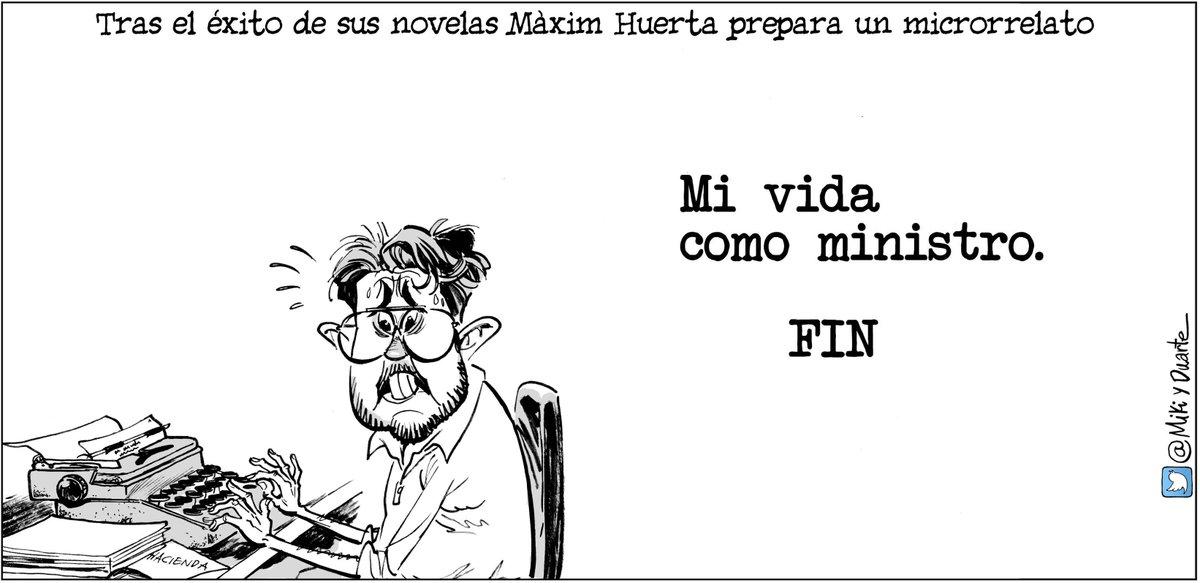 Microrrelato #MaximHuerta #MaximElBreve #LaCafeteraMaximPuerta Hoy, en los diarios del @grupojoly