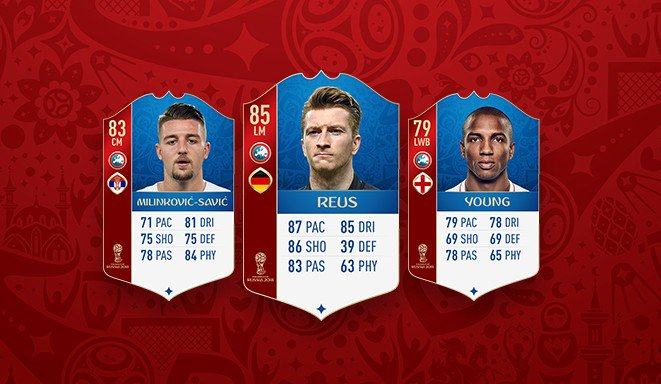 New players have been added to FIFA World Cup Ultimate Team! https://t.co/iinVUtFtvh #FUT #WorldCup https://t.co/Kh9rsRdf4M