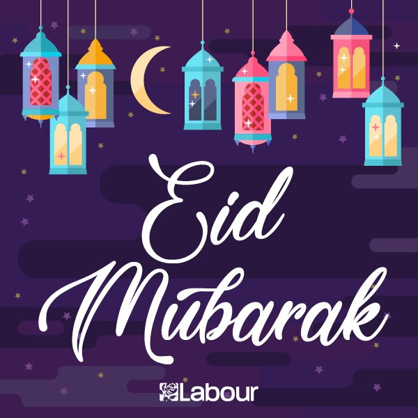 We'd like to wish all Muslim people celebrating in the UK and around the world, Eid Mubarak! https://t.co/Rn9a8s5DgF