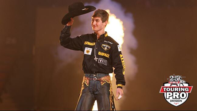 It's been a big offseason for @jesslockwood2. But after purchasing a new house and traveling to Australia, the reigning PBR World Champion is ready to get back to business >> Photo