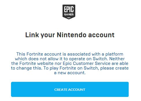 i cant log into my switch with fortnite because i played on the ps4 you have gone waytoofar with this no cross play thing - how to link fortnite account to ps4 and switch