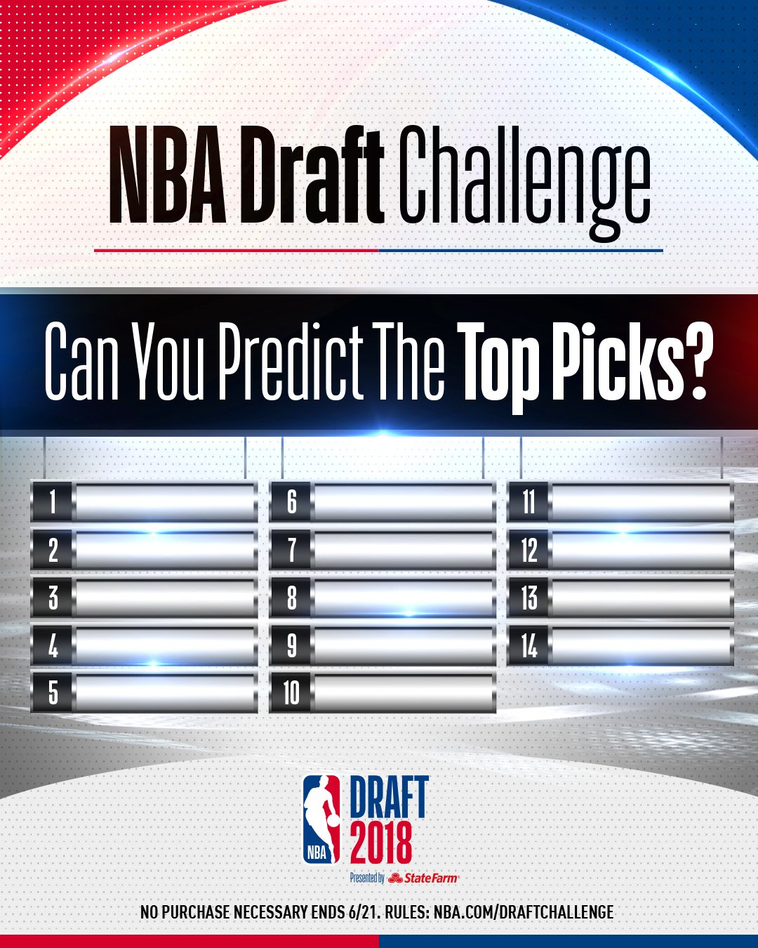 1 week til the #NBADraft!   Have you signed up for the NBA Draft Challenge yet? https://t.co/enJUUXs2XO https://t.co/jNRXZXcygq
