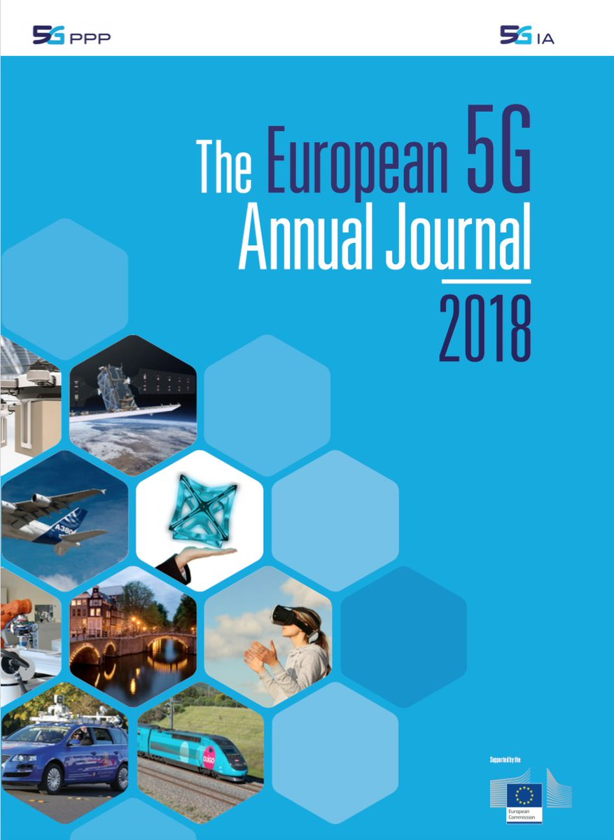 The @5GPPP European #5G Annual Journal 2018 has been published! Project @VirtuWind is listed on page 30! Download the journal here https://t.co/CmoTfVUJeE!!!