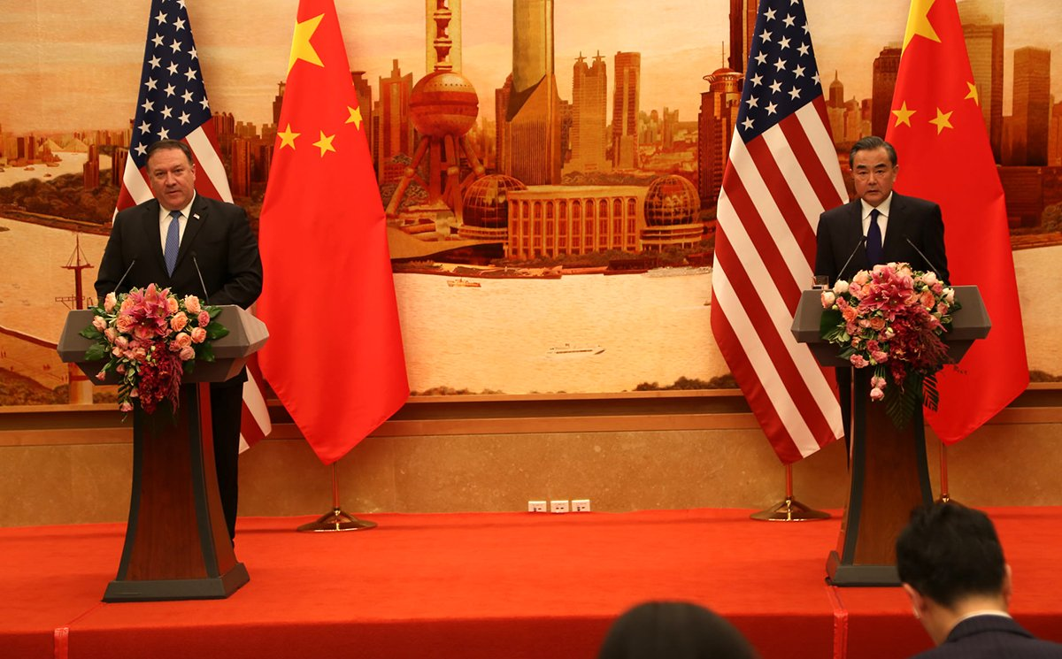 I enjoyed speaking with the Chinese and American press, and answering questions along with State Councilor and Foreign Minister Wang. I welcomed the frank exchange of ideas.