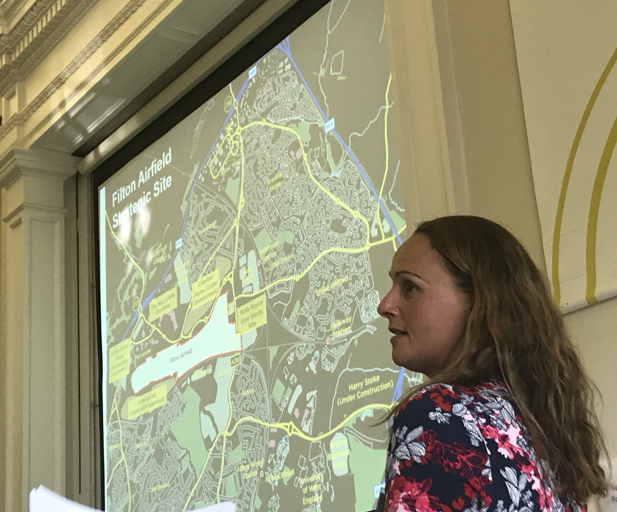 Mark Pullin @ebbsfleetdc has been sharing how to use strong planning structures/approaches to encourage faster delivery & Claire Wood @sgloscouncil is explaining how the SGC has been phasing and monitoring delivery of 25% affordable Homes on several sites #NewCommunitiesGroup pic.twitter.com/CX0MGi11QM