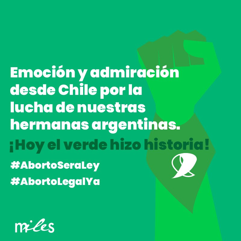 Miles Chile's photo on #AbortoLegalYa