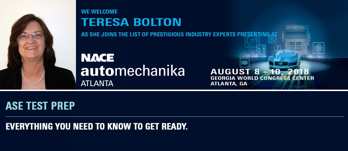Nace Automechanika On Twitter Prepare Yourself For The Ase Test At