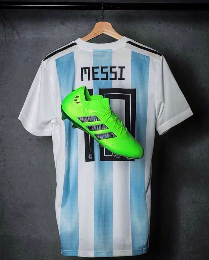 cbb35afab ... Team World Cup 2018 jerseys to two lucky winners who will RT this tweet!   LeoMessi  FCBarcelona  Football  SeleccionArgentinapic.twitter .com OtYUSzIZ1y