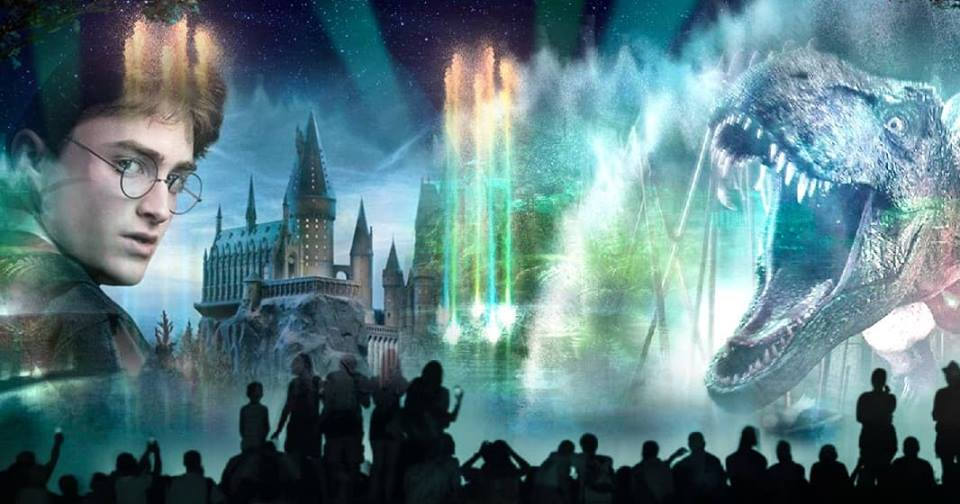 Theres DEFINITELY wizards working at @UniversalORL... Spells & scenes from #HarryPotter will come to life in a new nighttime show, covering the lagoon in an epic #CinematicCelebration. Weve got goosebumps!⚡ More revealed in our exclusive interview: the-leaky-cauldron.org/2018/06/14/exc…