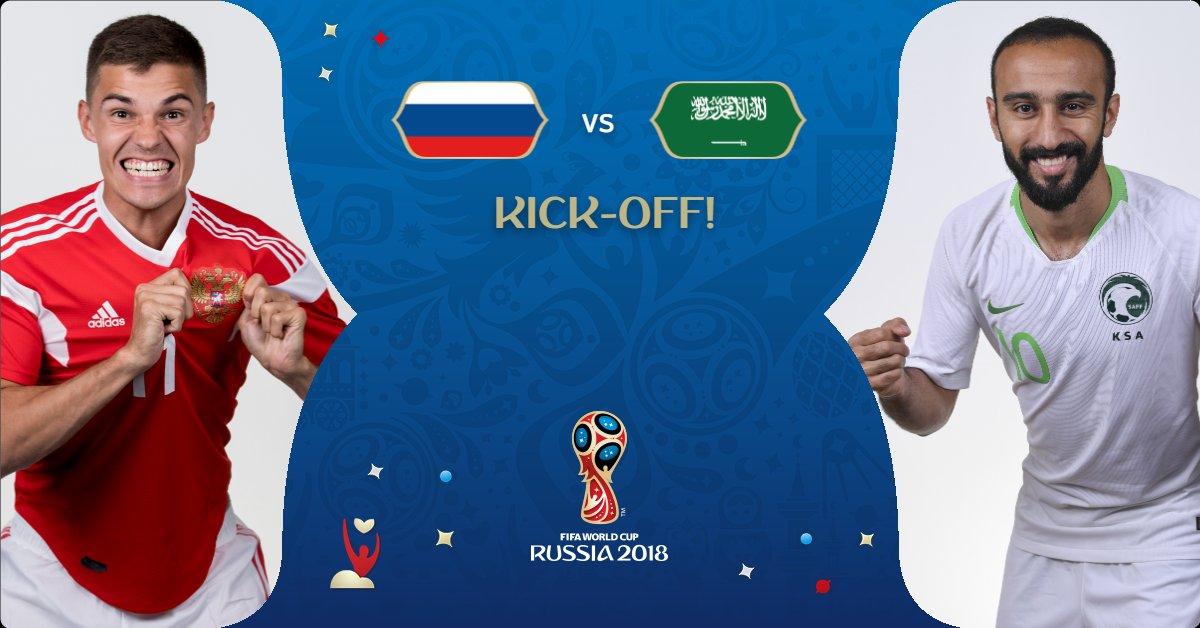 8b2a7a79f #RUSKSA #WorldCuppic.twitter.com/9PmNgh1AN7. 8:02 AM - 14 Jun 2018