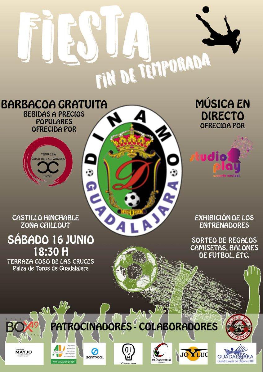 Dinamo Guadalajara On Twitter Fiesta Recordad Que Este
