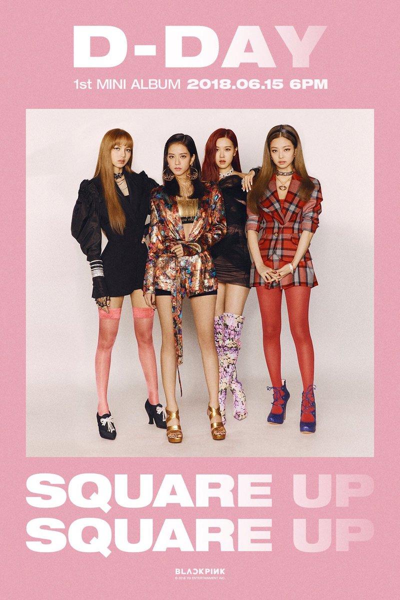Bllɔkpiik 블랙핑크 S Tweet Blackpink 1st Mini Album Square Up