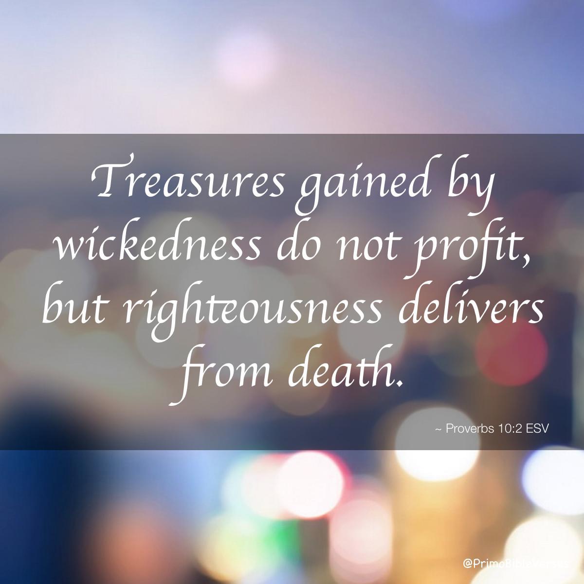 """bibletime on twitter: """"wealth, especially wealth gotten through"""