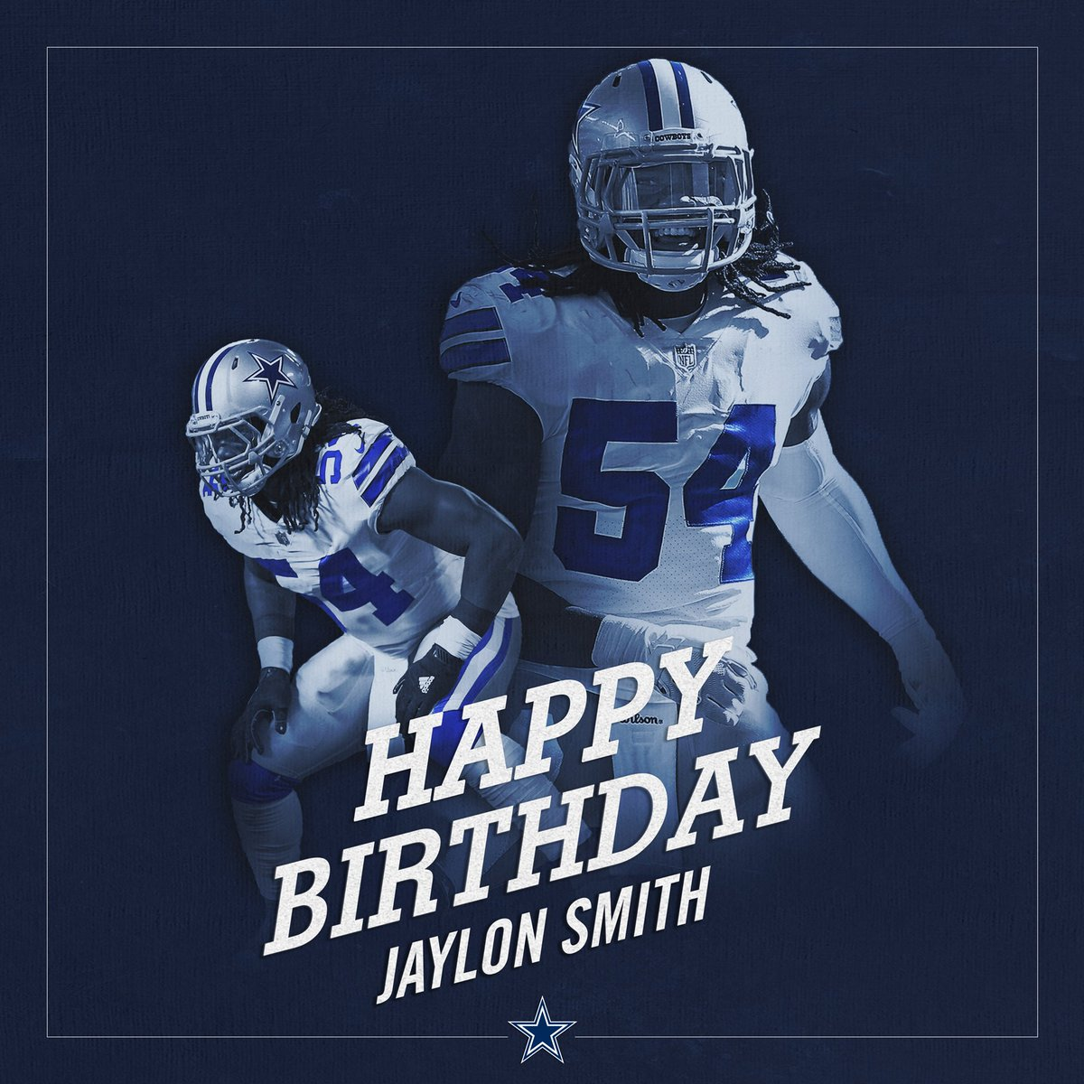 Dallas Cowboys On Twitter Cowboysnation Join Us In Wishing Thejaylonsmith A Happy Birthday